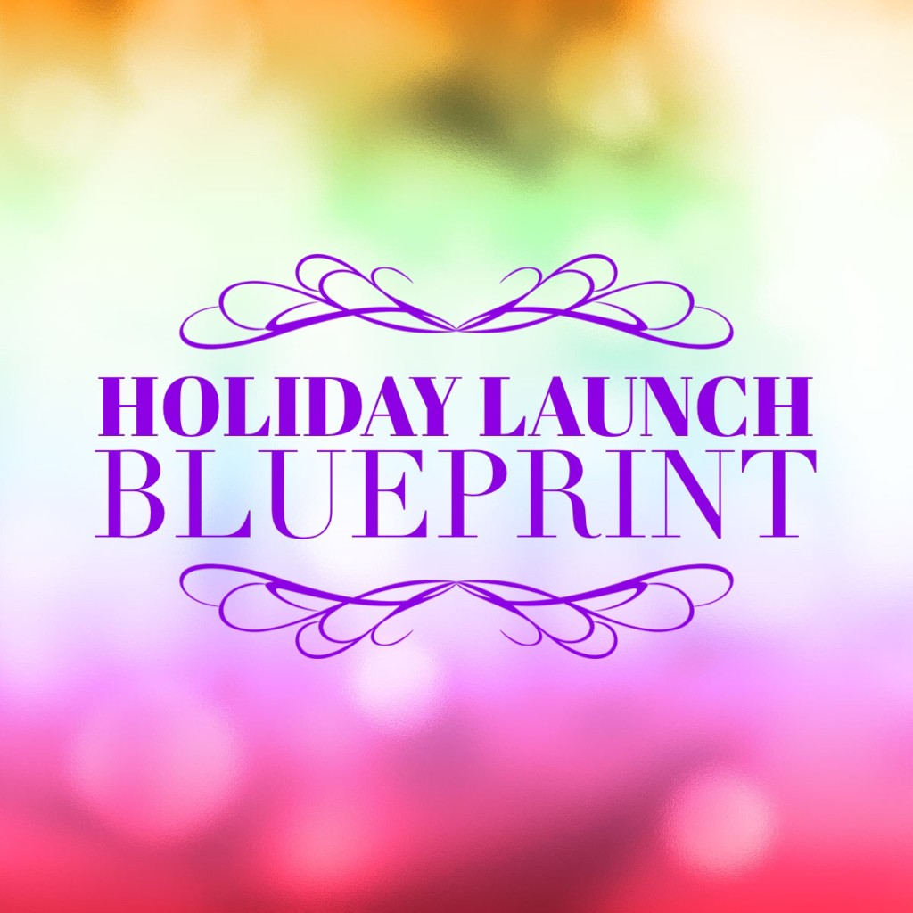 HOLIDAY LAUNCH BLUEPRINT